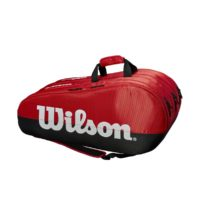 TEAM 3 COMPARTMENT BAG RED