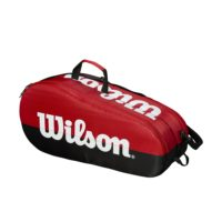 TEAM 2 COMPARTMENT BAG RED