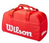 SUPER TOUR SMALL DUFFEL RED